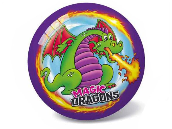 Mikro trading Magic Dragons - Míč - 23 cm