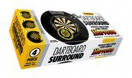 Harrows Surround 4 Piece Dartboard - kruh kolem terče - Black
