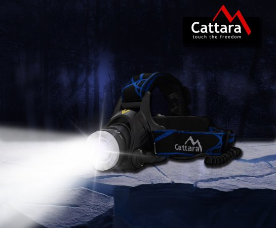 Cattara Čelovka LED 570 lm ZOOM